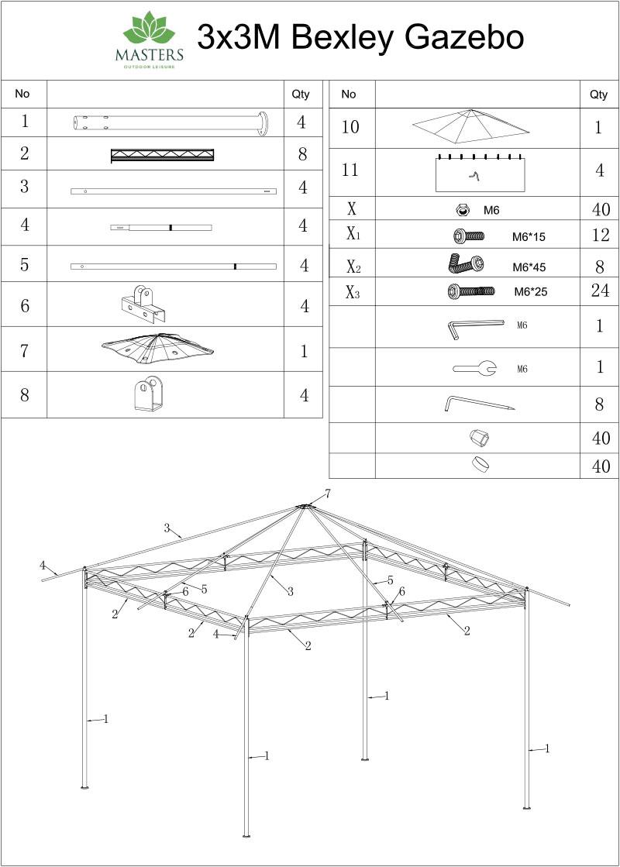 Bexley Gazebo 3x3 Instructions Cover - My New Gazebo on diagrams of parks, diagrams of generators, diagrams of kitchens, diagrams of ponds, diagrams of gliders, diagrams of bridges, diagrams of plants, diagrams of trees, diagrams of fireplaces, diagrams of buildings, diagrams of landscaping, diagrams of steps, diagrams of churches, diagrams of barns, diagrams of decks, diagrams of roofs, diagrams of chairs, diagrams of flowers, diagrams of greenhouses, diagrams of houses,