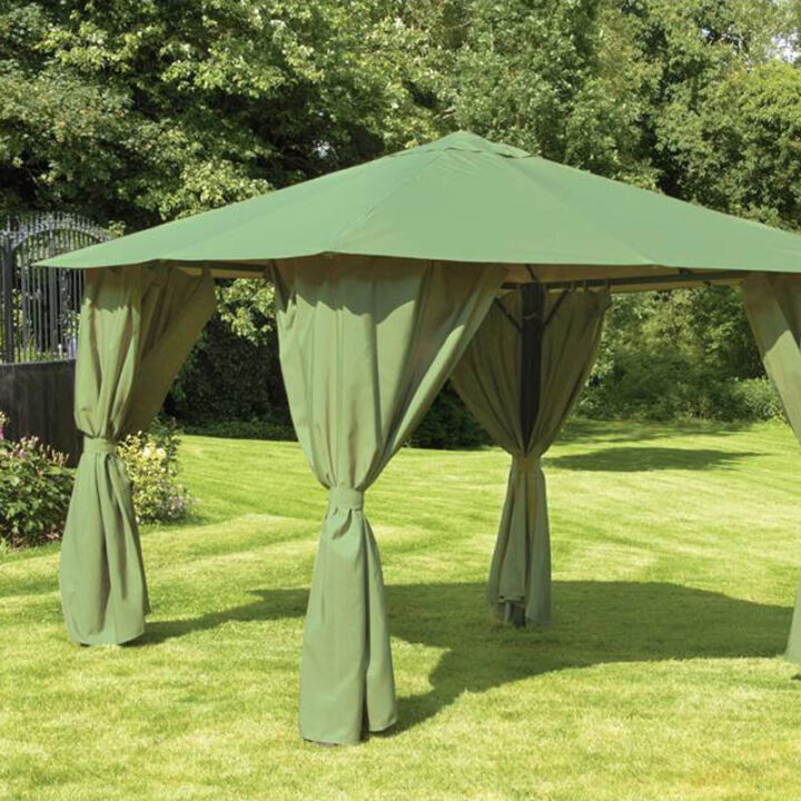 Provence 3x3 Green Canopy