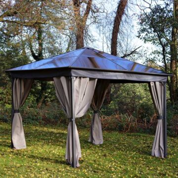 Polycarbonate Roof Gazebo